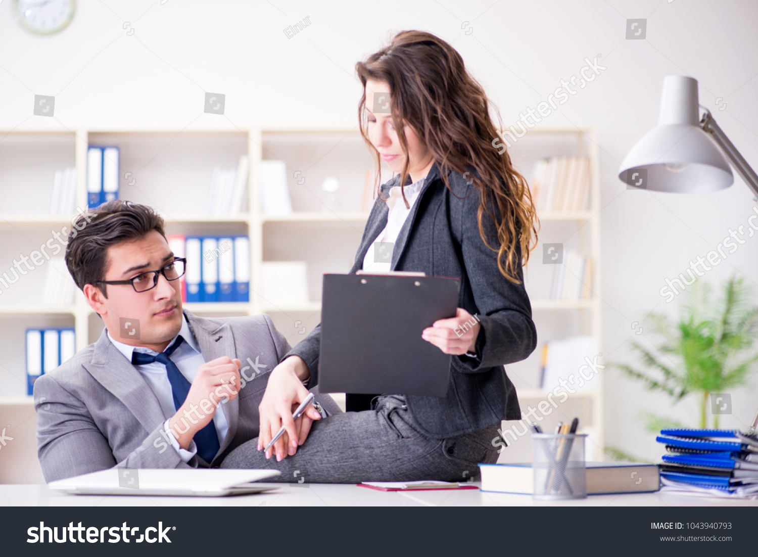 Sexual harassment bribery in business