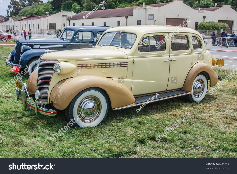San francisco may 27 a 1938 chevrolet 4 door sedan is for 1938 chevy 4 door