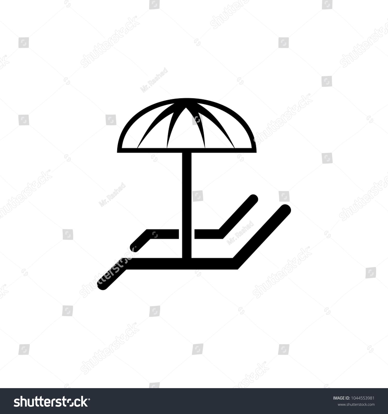 Loungers umbrella icon element spa icon stock vector 1044553981 element of spa icon premium quality graphic design signs buycottarizona Choice Image