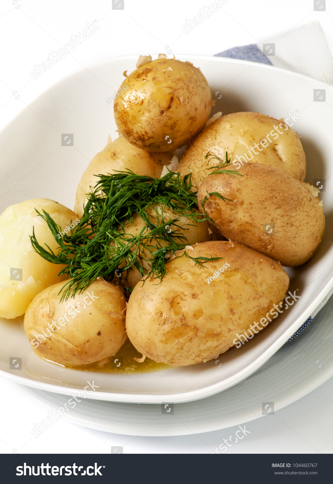 how to cook boiled potatoes with butter