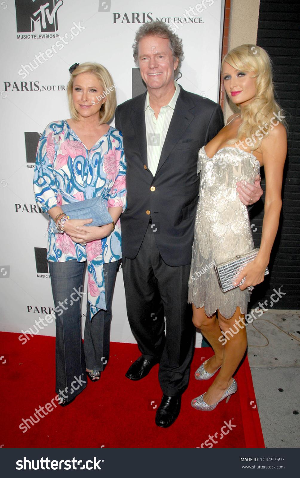 Kathy Hilton Rick Hilton Paris Hilton | Royalty-Free Stock Image