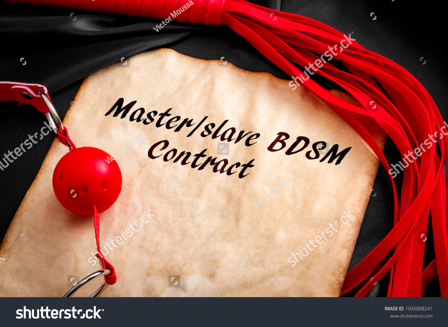 Slave Contract Concept Aged Paper Surrounded Stock Photo Edit Now
