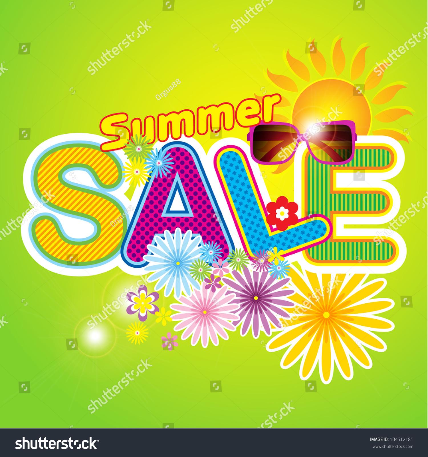 summer icon summer template stock vector  summer icon summer template summer fashion