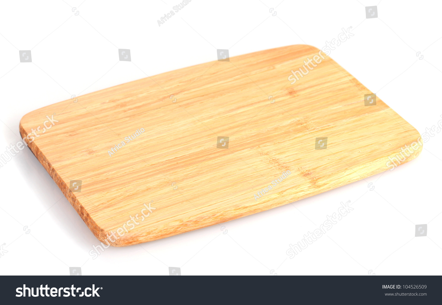 Cutting board isolated on white stock photo 104526509 for White cutting board used for