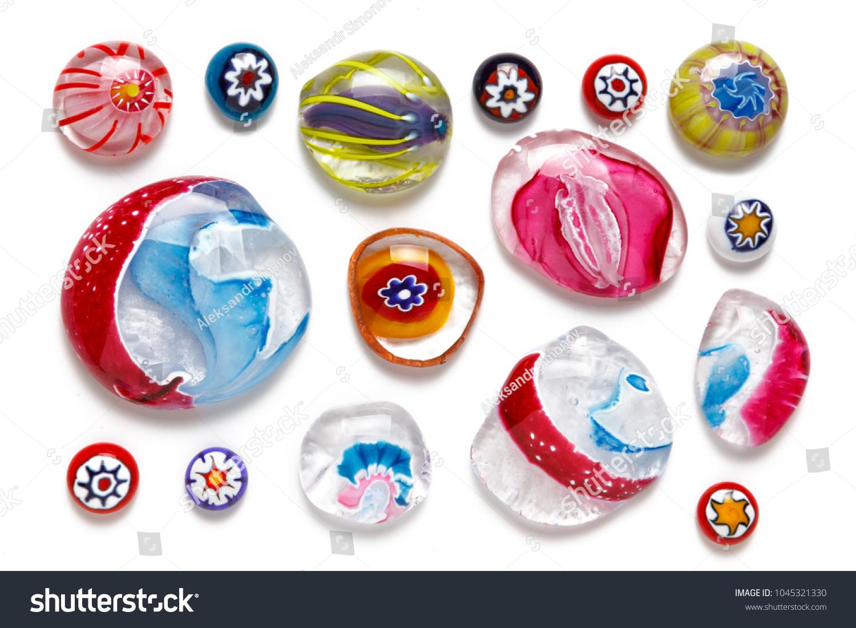 Glass Millefiori Beads-Various Sizes