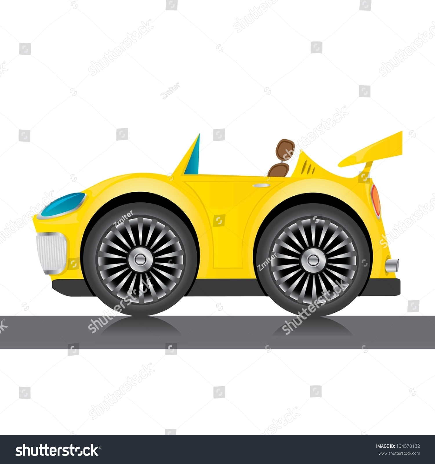 yellow car icon pictures to pin on pinterest thepinsta car vector image car vector icon
