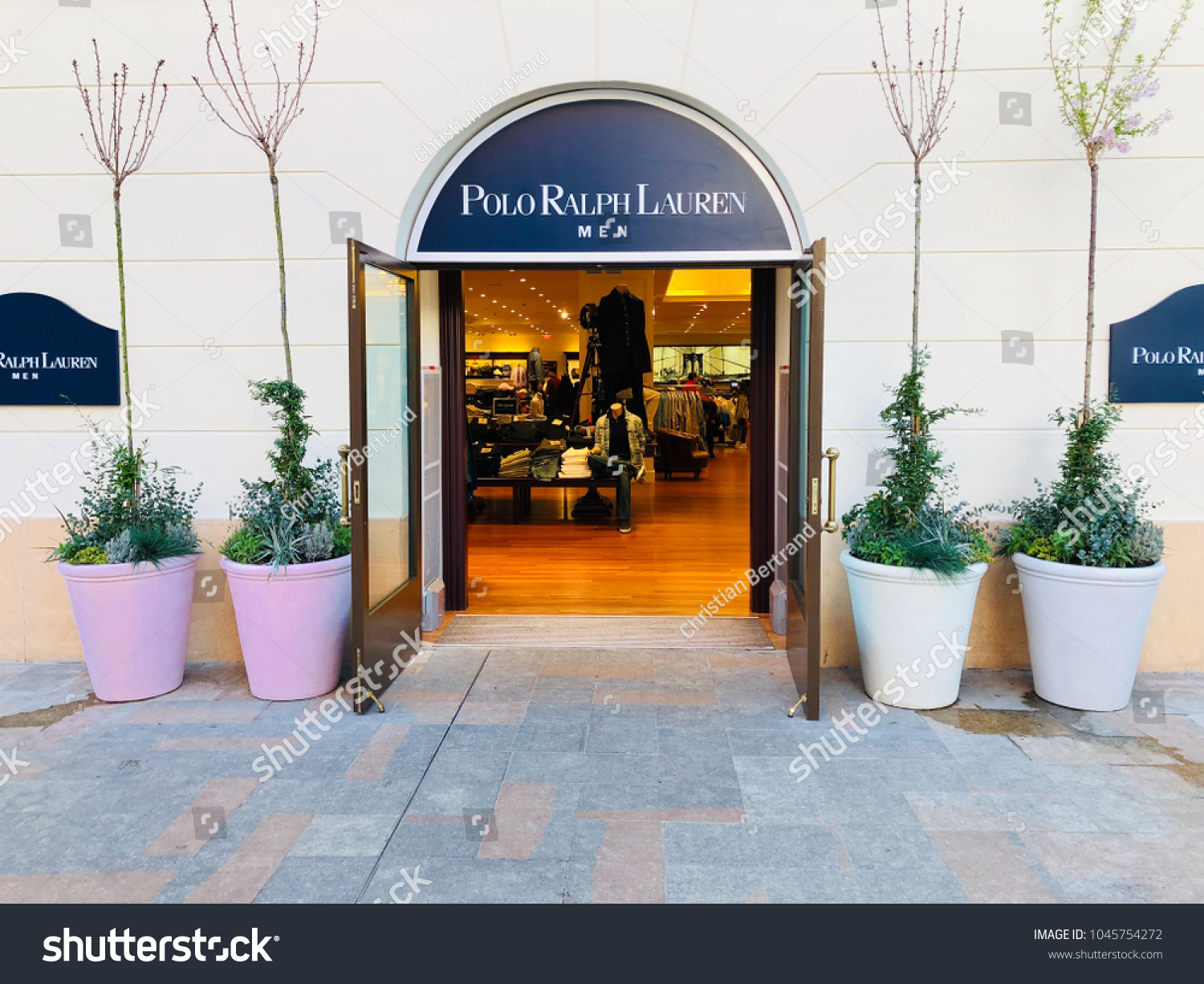 7023f115a2 Barcelona Mar 13 Polo Ralph Lauren Stock Photo (Edit Now) 1045754272