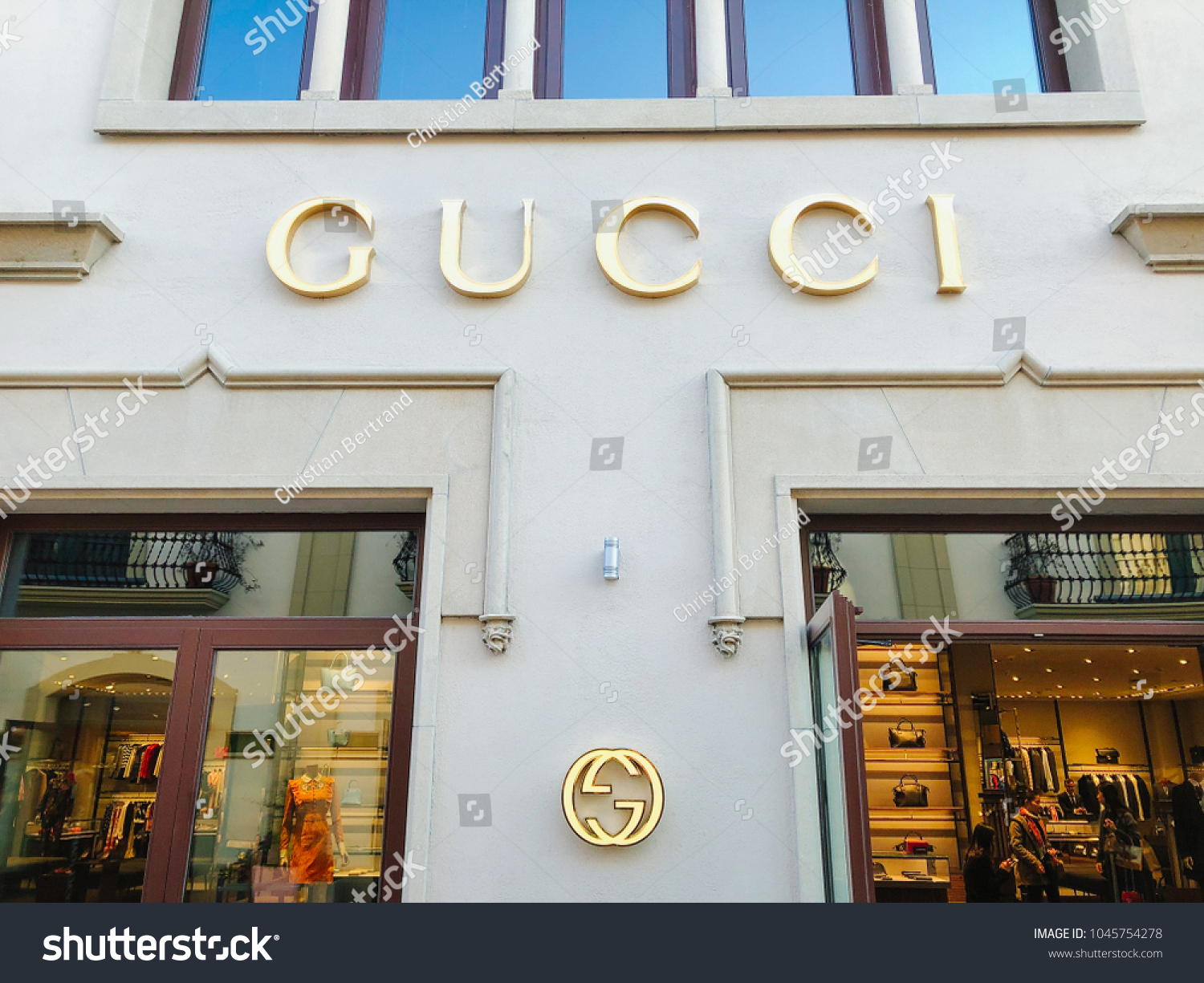 5223679a3 BARCELONA - MAR 13: The Gucci store at La Roca Village (Chic Outlet Shopping