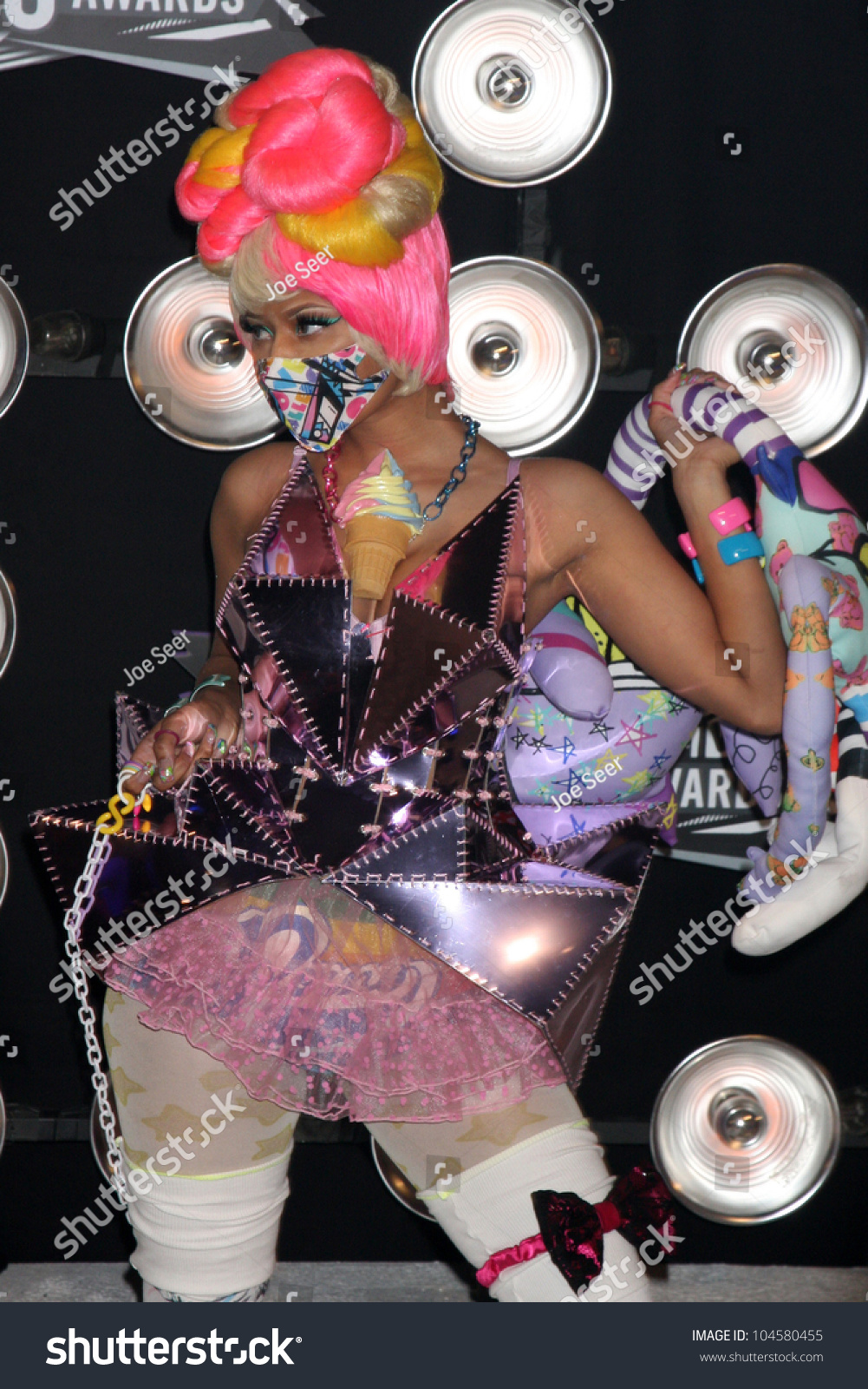 Los Angeles Aug 28 Nicki Minaj Stock Photo 104580455 ...