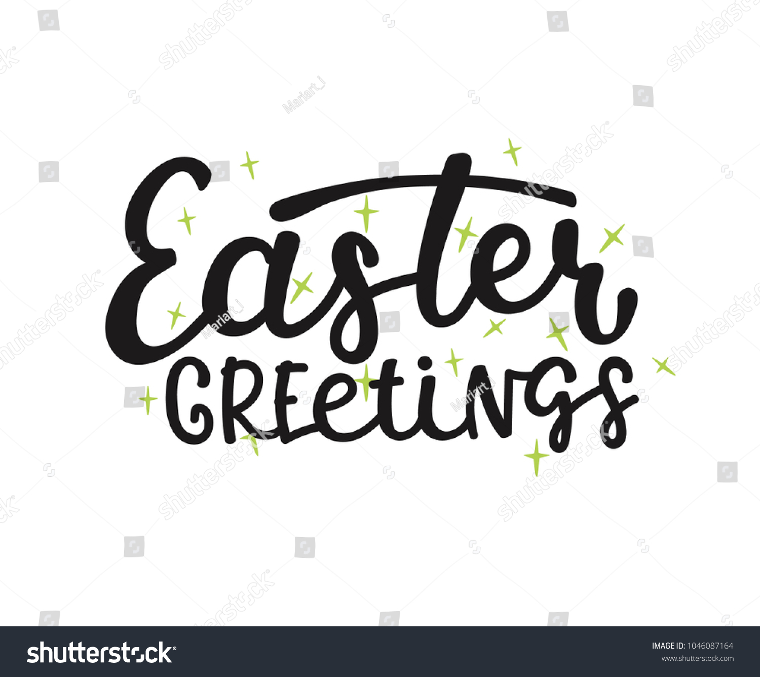 Vector happy easter lettering phrases quotes stock vector 1046087164 vector happy easter lettering phrases and quotes hand drawn modern calligraphy for poster greeting m4hsunfo