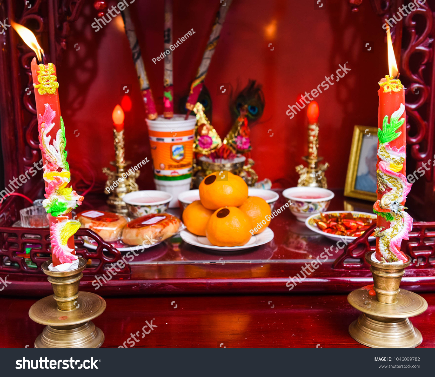 Traditional Chinese Wedding Decorations Stock Photo Edit Now