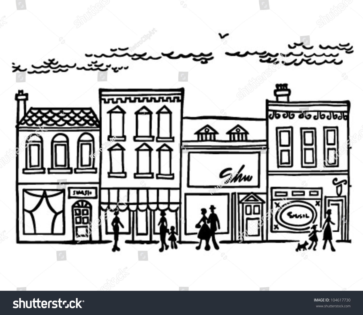 city centre clipart - photo #44