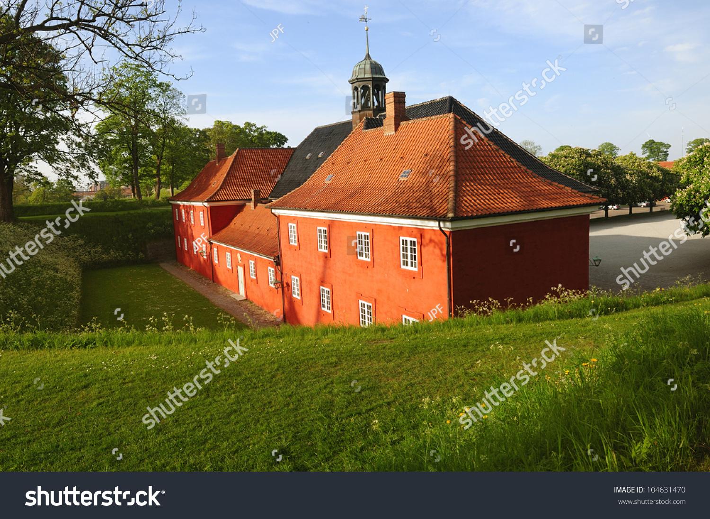 Kastellet In Copenhagen. The Old Military Fortress. Denmark
