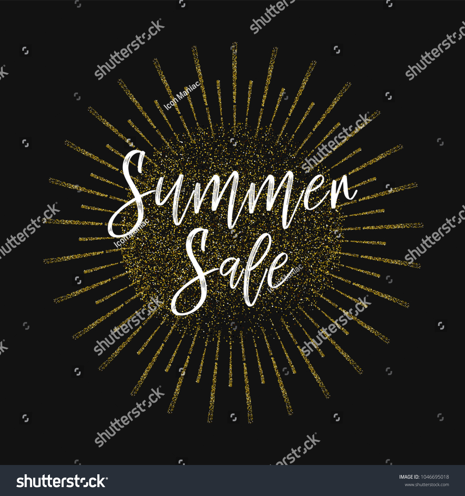 Summer Sale Inspirational Quotes About Travel Stock Vector