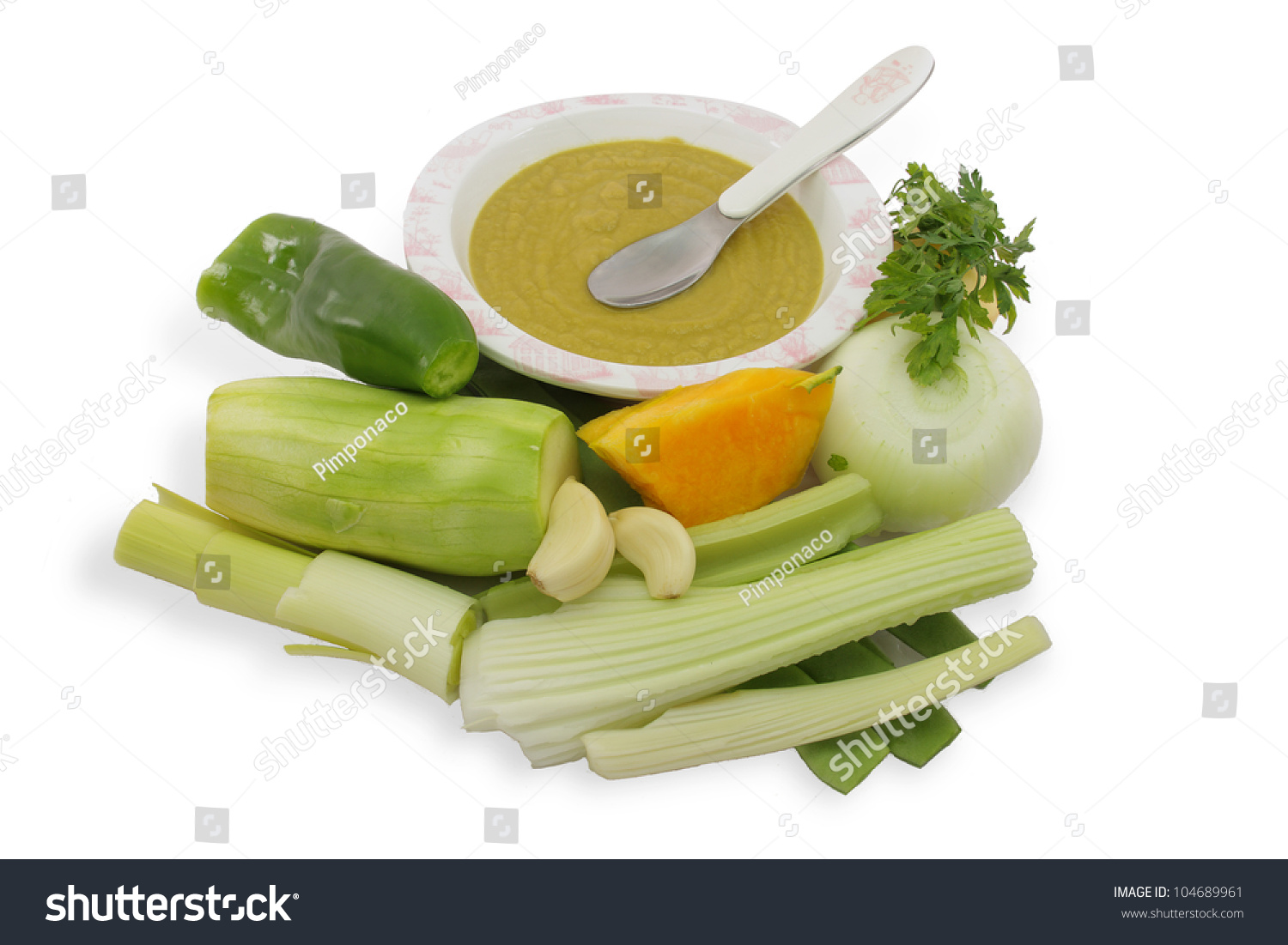 Apple And Celery Baby Food