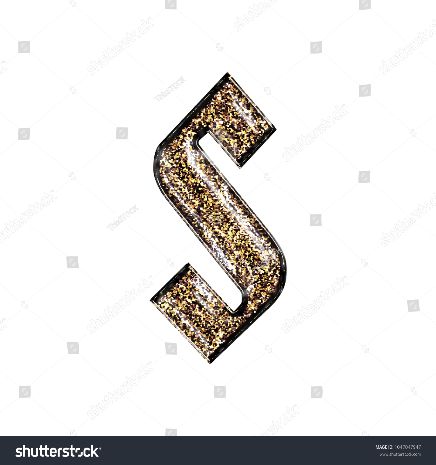 Royalty Free Stock Illustration Of Fancy Sparkling Glittery Gold