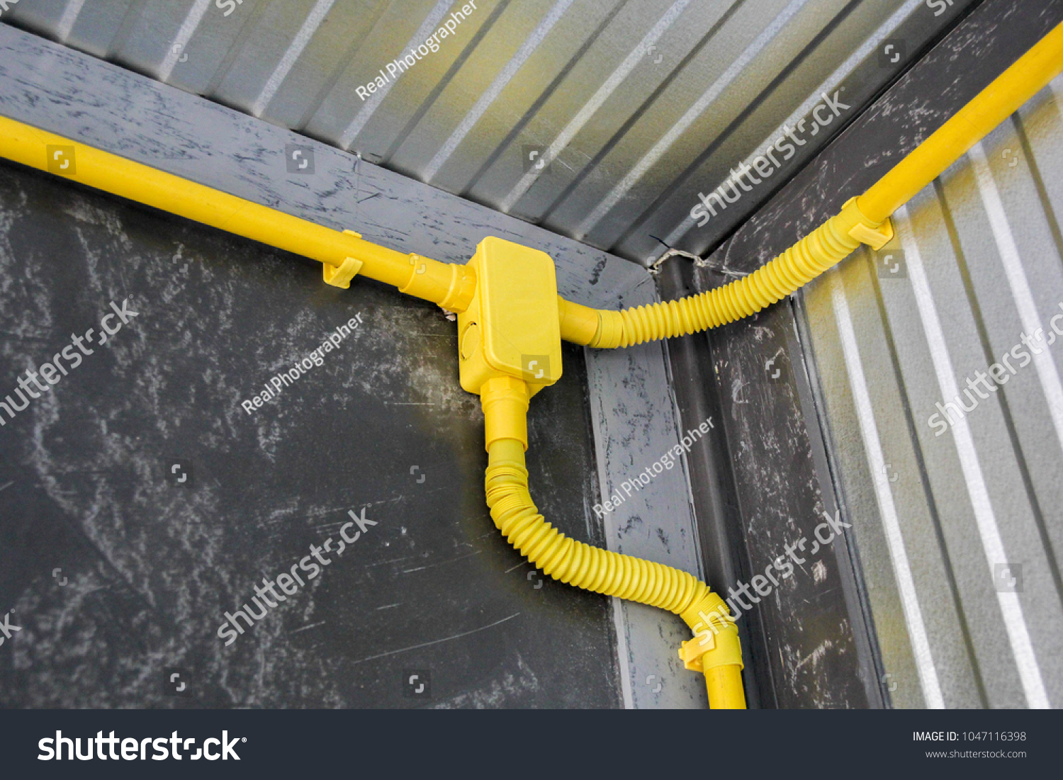 Cool Faulty Electrical Wiring Percent Yellow Put Stock Photo Edit Now Wiring 101 Akebretraxxcnl