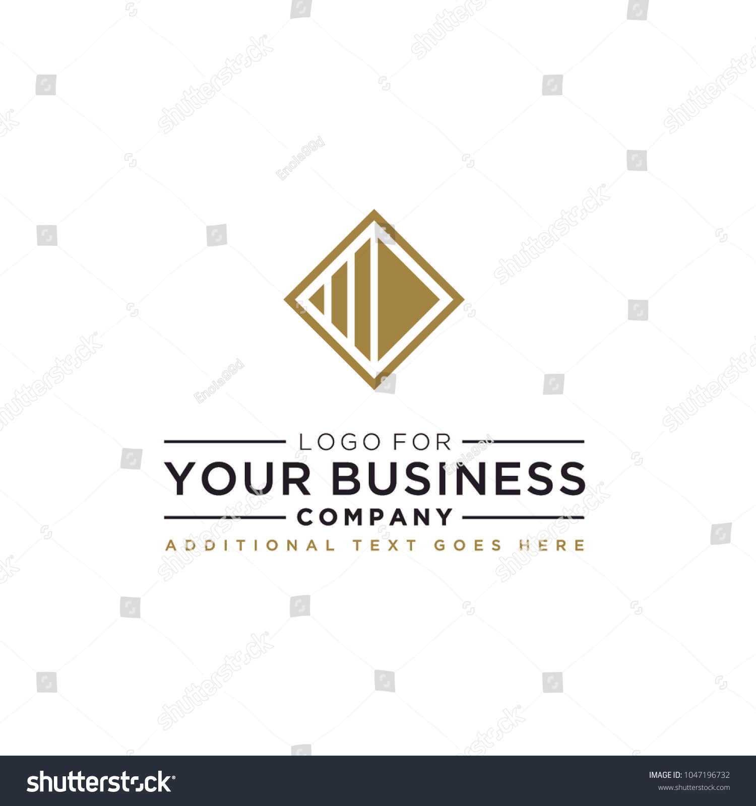 Professional Square Abstract Logo Design Inspiration Stock Vector ... for Square Logo Design Inspiration  557yll