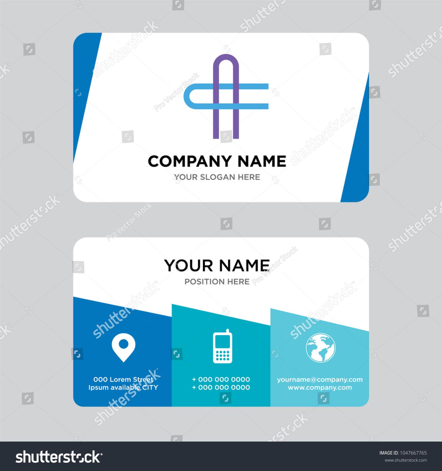 AC CA Letter Business Card Design Stock Vector 1047667765 - Shutterstock