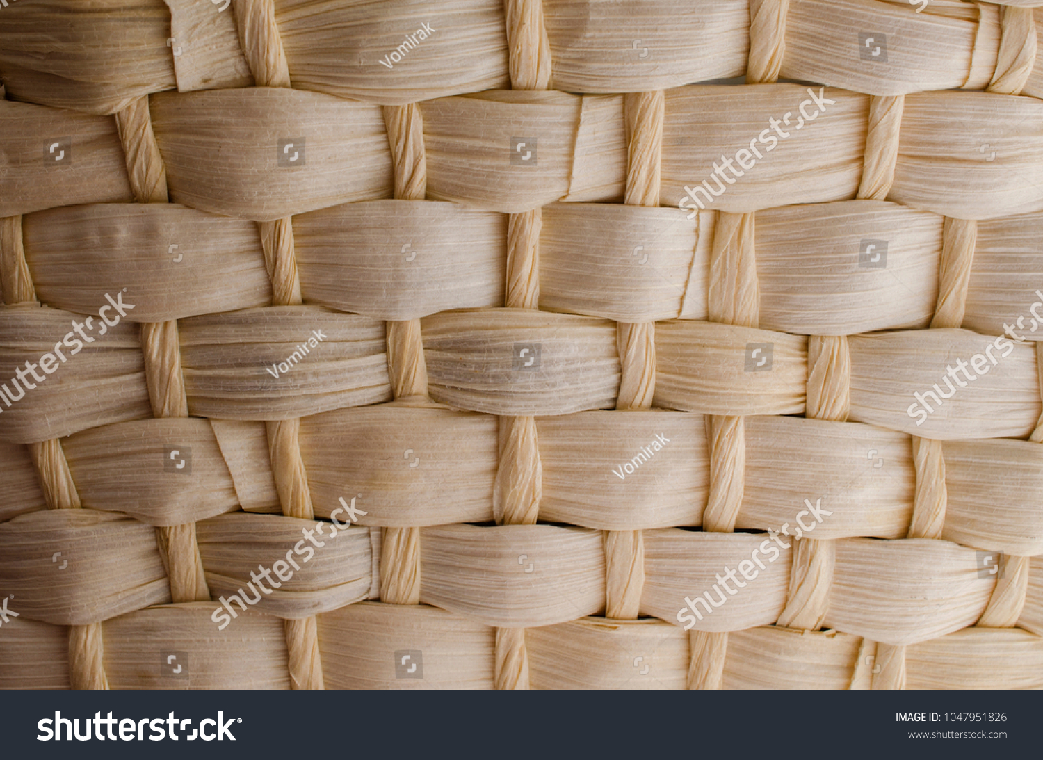 background in the form of a basket made of reed 3d custom wallpaper design