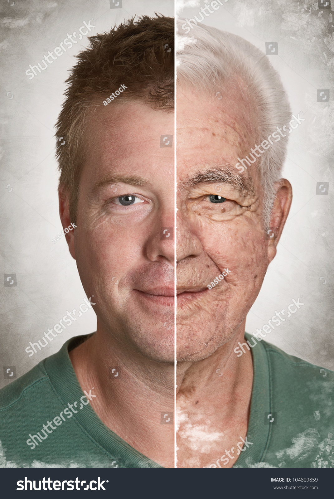 young man old face life aging stock photo 104809859 shutterstock