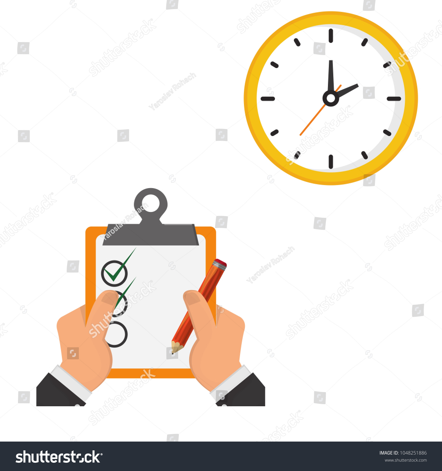 dating clock hands