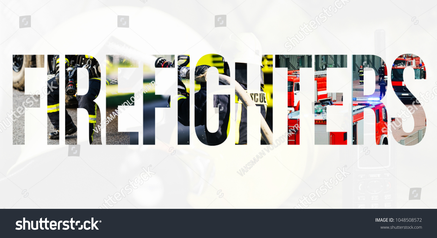 firefighter letters filled pictures famous fireman stock photo edit