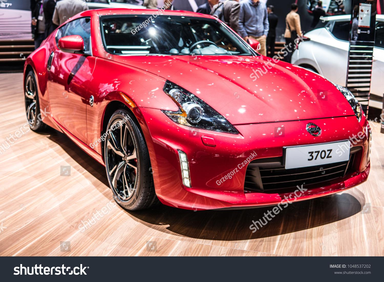 Geneva Switzerland March 06 2018 Metallic Stock Photo Edit Now