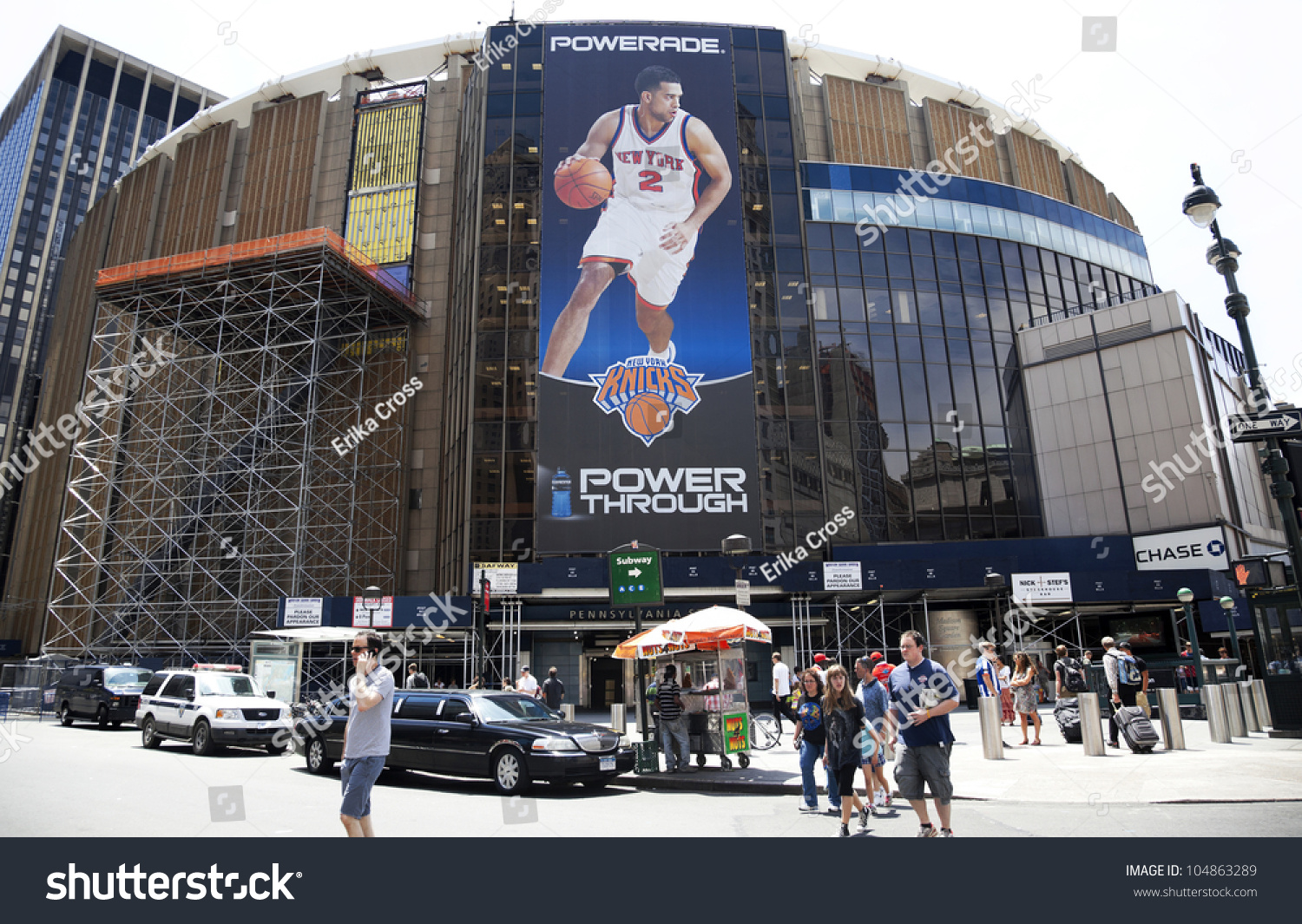 New York City Ny June 3 Madison Square Garden Is An Indoor Arena That Sits Above Penn