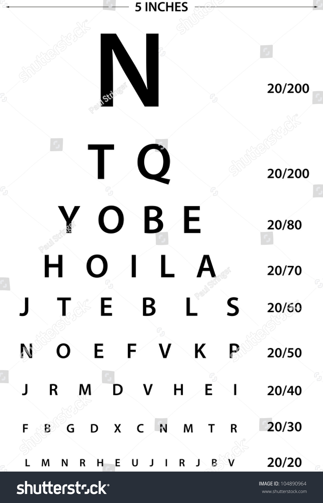 Sign eye test use by doctors stock photo 104890964 shutterstock sign for eye test use by doctors geenschuldenfo Gallery