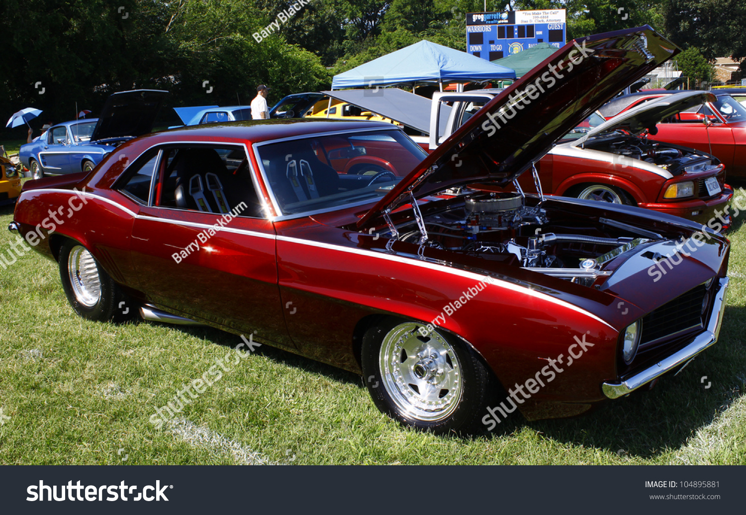 HAMPTON VAJUNE A Chevy Camaro Stock Photo Royalty Free - Camaro car show near me