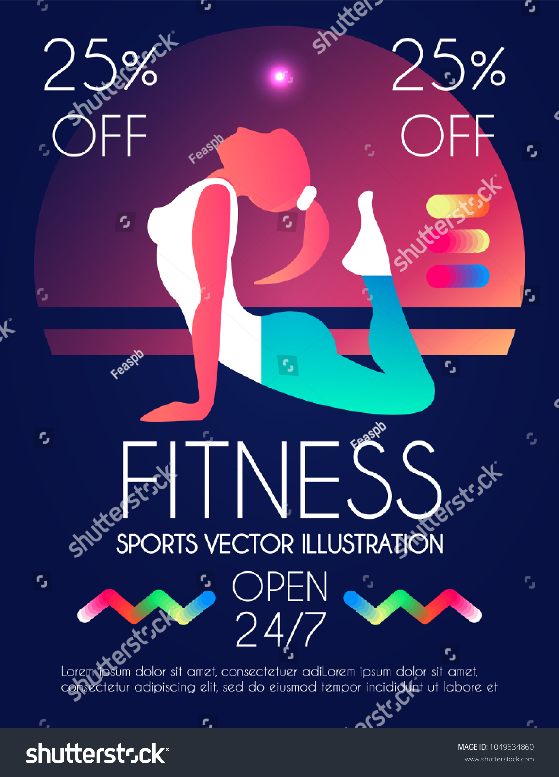 woman fitness workout girl sports health stock vector royalty free