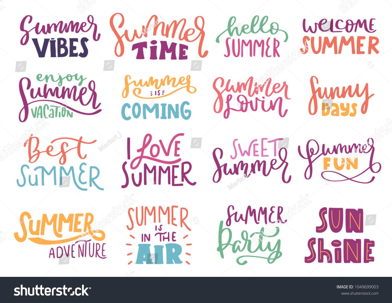 Vector De Stock Libre De Regalías Sobre Summer Inspiration