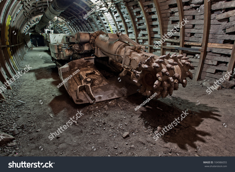 Modern Coal Mine Stock Photo 104986055 : Shutterstock