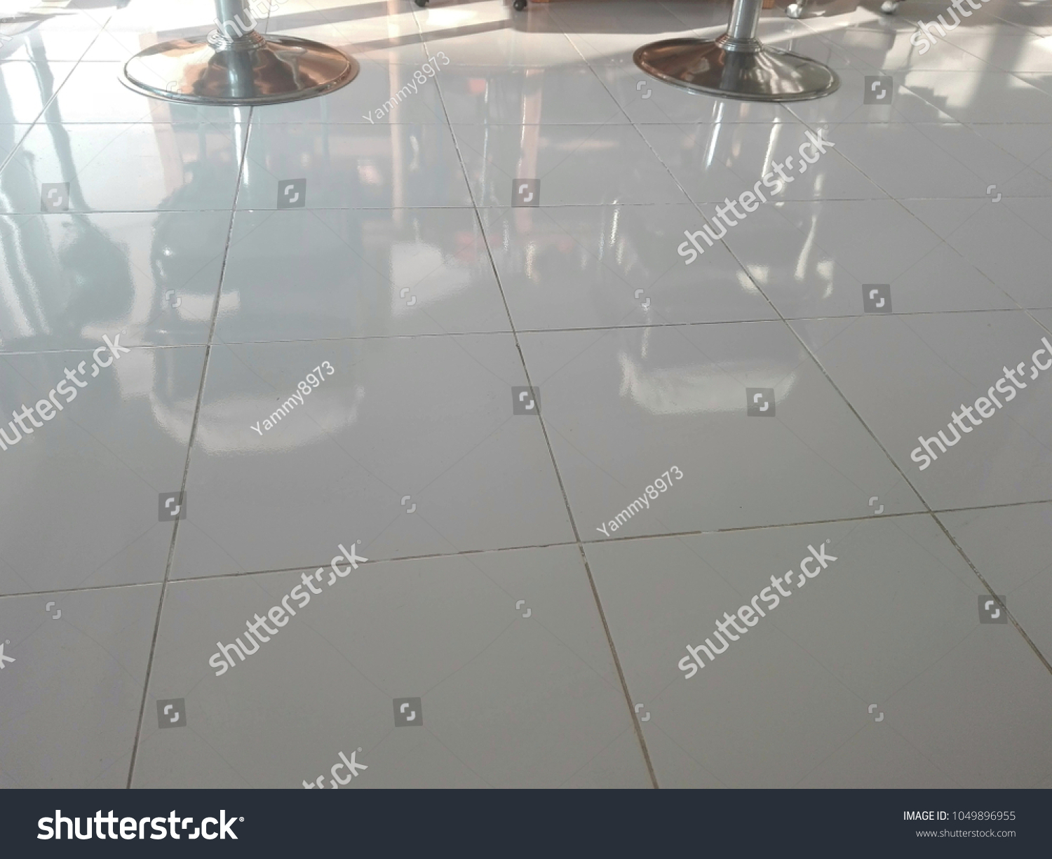 Floor Made Polished Ceramic Tiles Light Stock Photo Edit Now