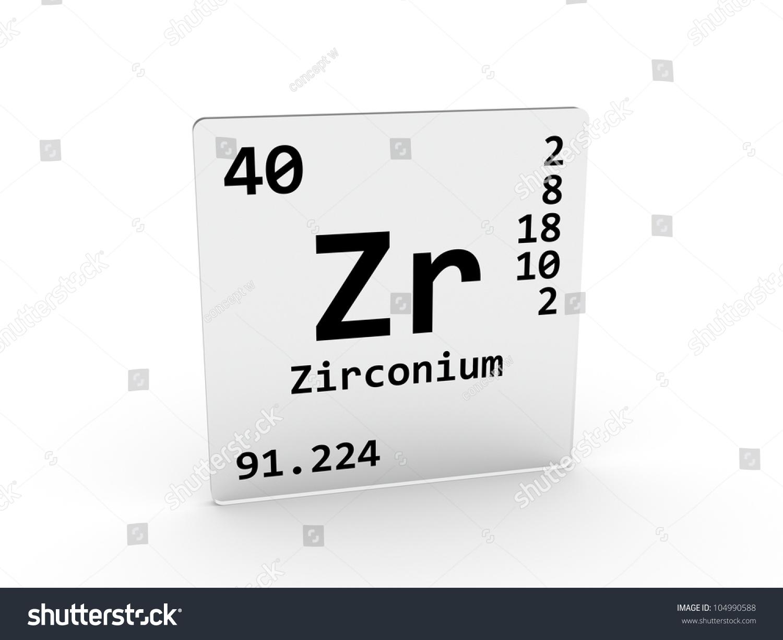 Zirconium symbol zr element periodic table stock illustration zirconium symbol zr element of the periodic table gamestrikefo Images