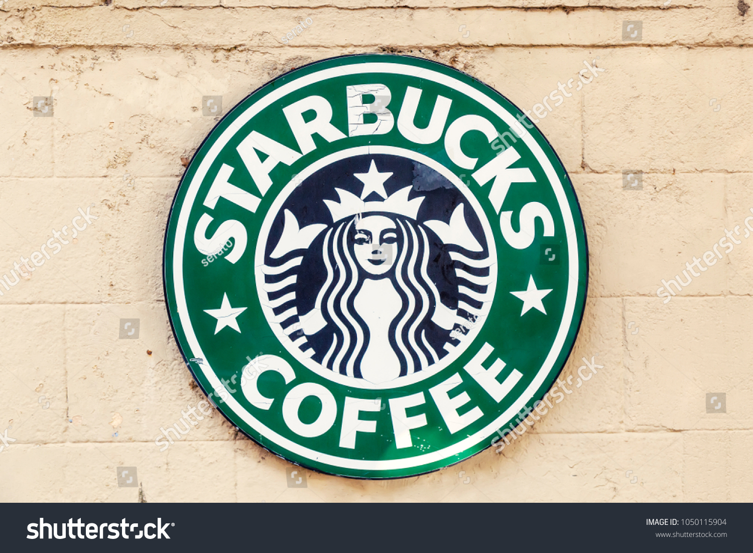 Rhodes Greece July 07 2017 Starbucks Stock Photo Edit Now