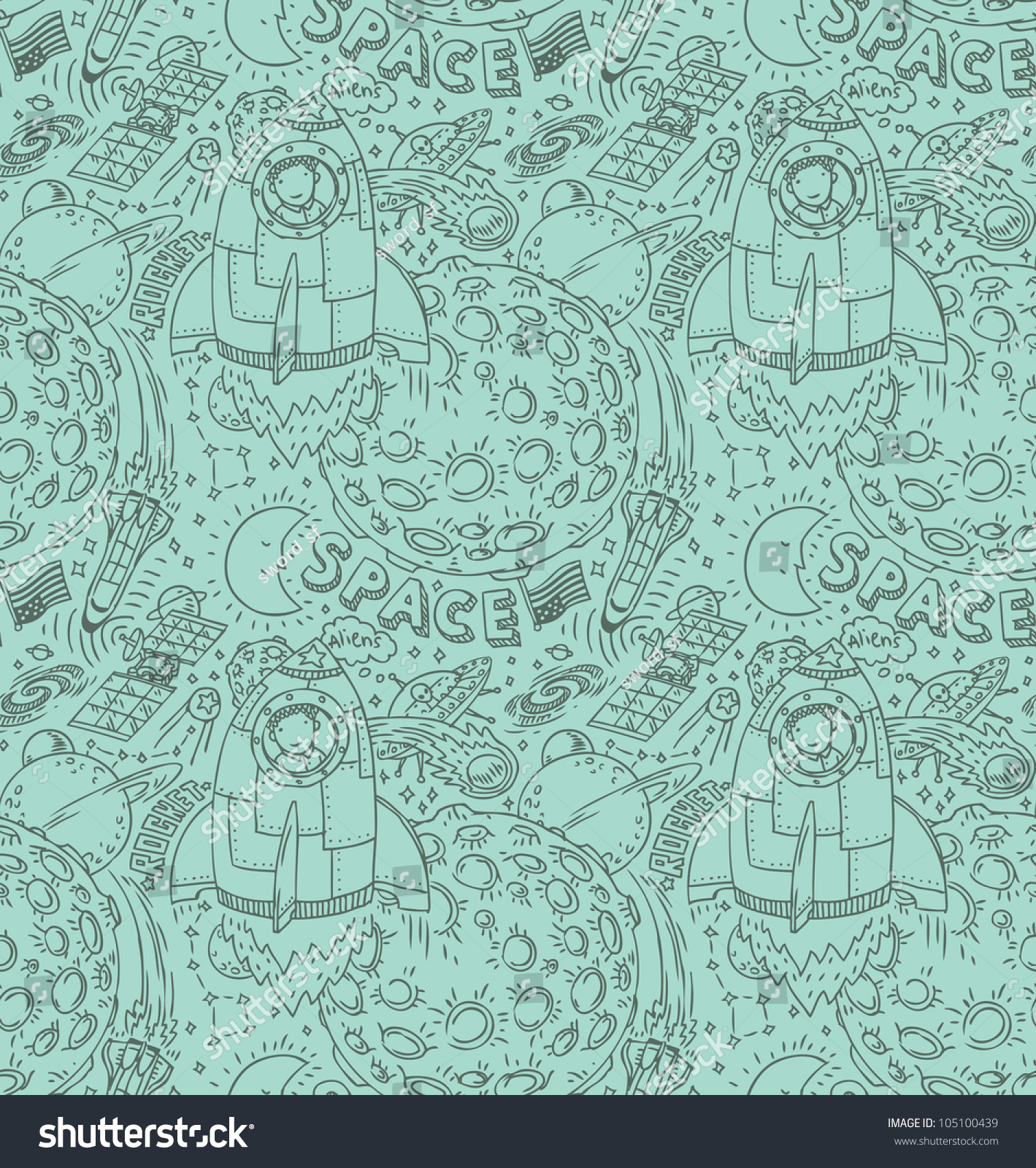 Seamless outer space pattern stock photo 105100439 for Outer space pattern