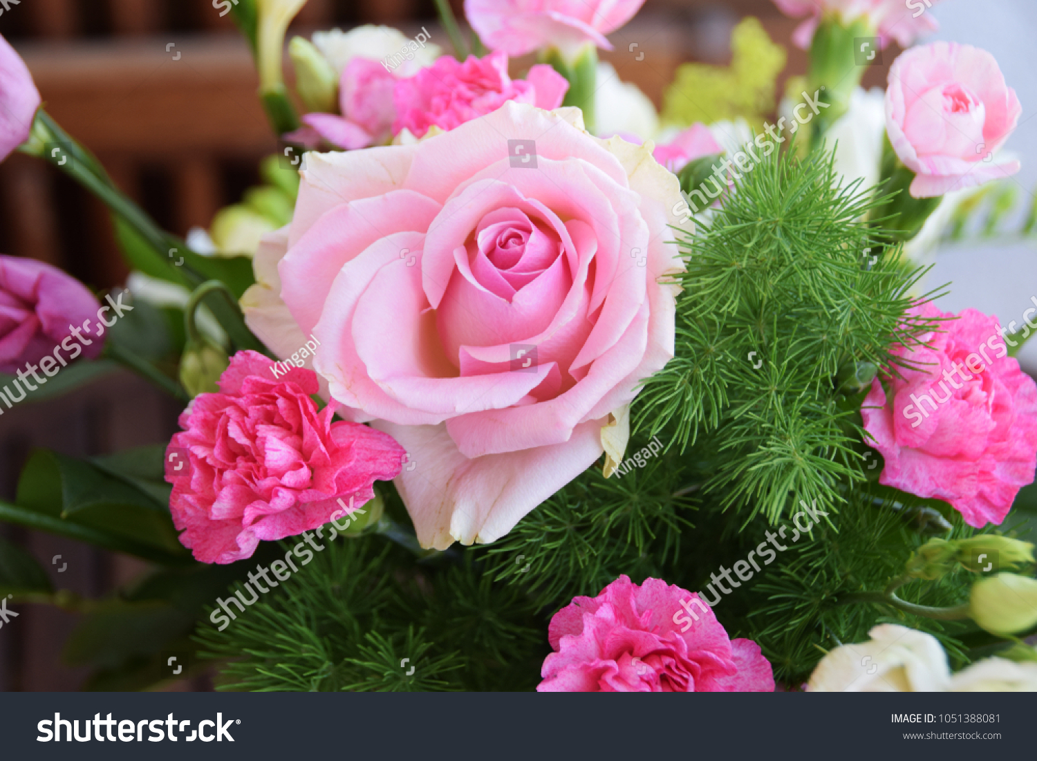 Roses Pink Flowers Background Rose Flower Stock Photo Edit Now