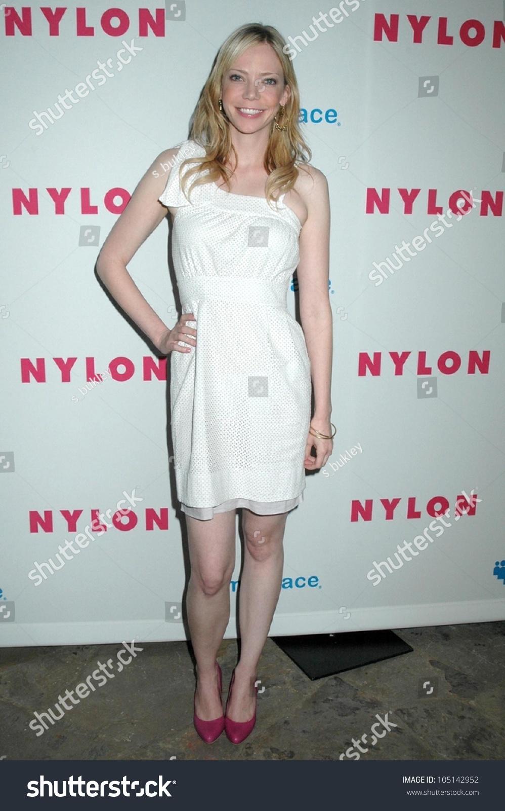 Riki Lindhome Nylon Magazine Young Hollywood Stock Photo (Royalty ...