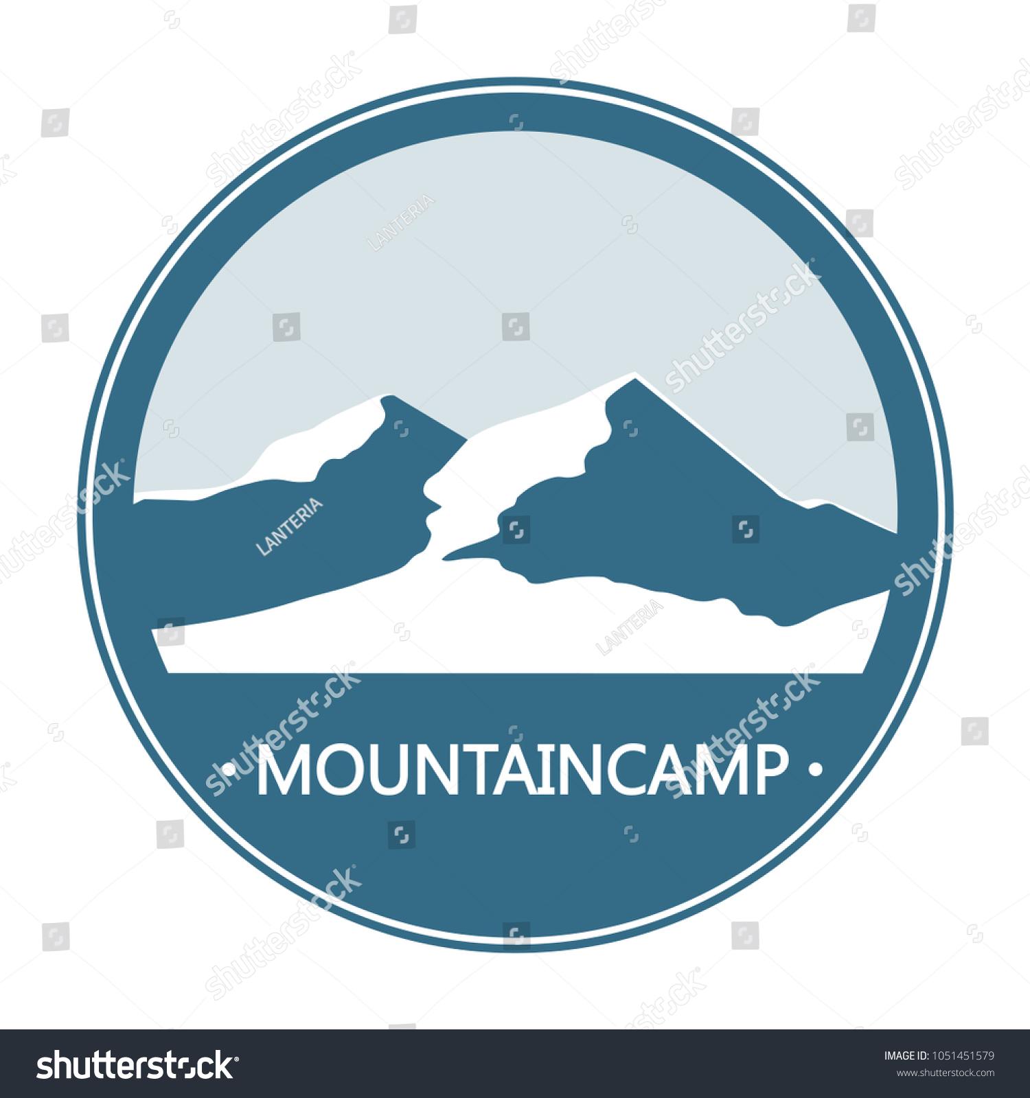National Park Symbol Stock Illustration 1051451579 Shutterstock