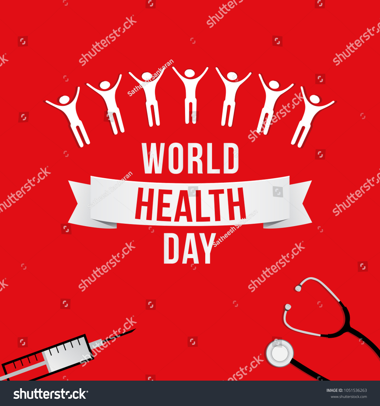 Creative Vector Illustration For World Health Day Campaigns Can Be Used Posters Web
