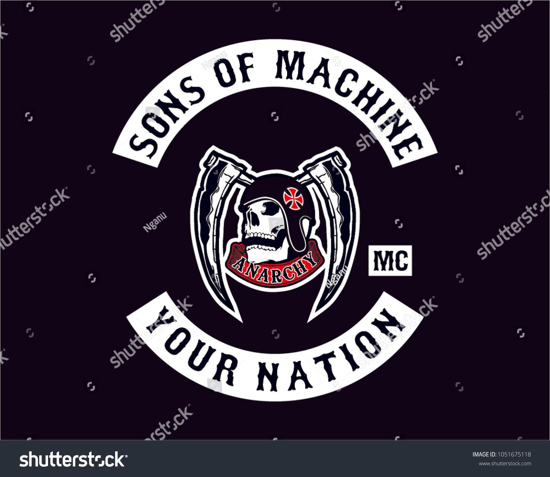 Design for logo design for motorcycle club logo sticker decal emblem