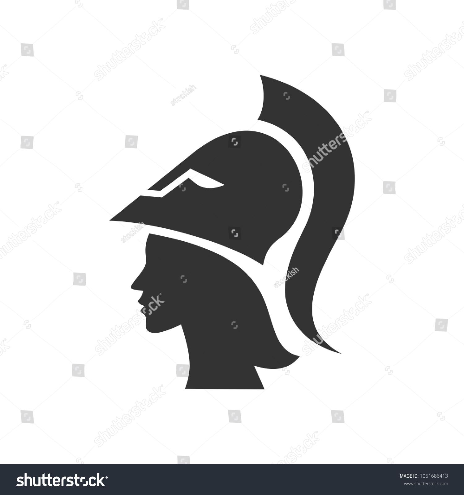 Athena symbol vector logo stock vector 1051686413 shutterstock athena symbol vector logo biocorpaavc Images