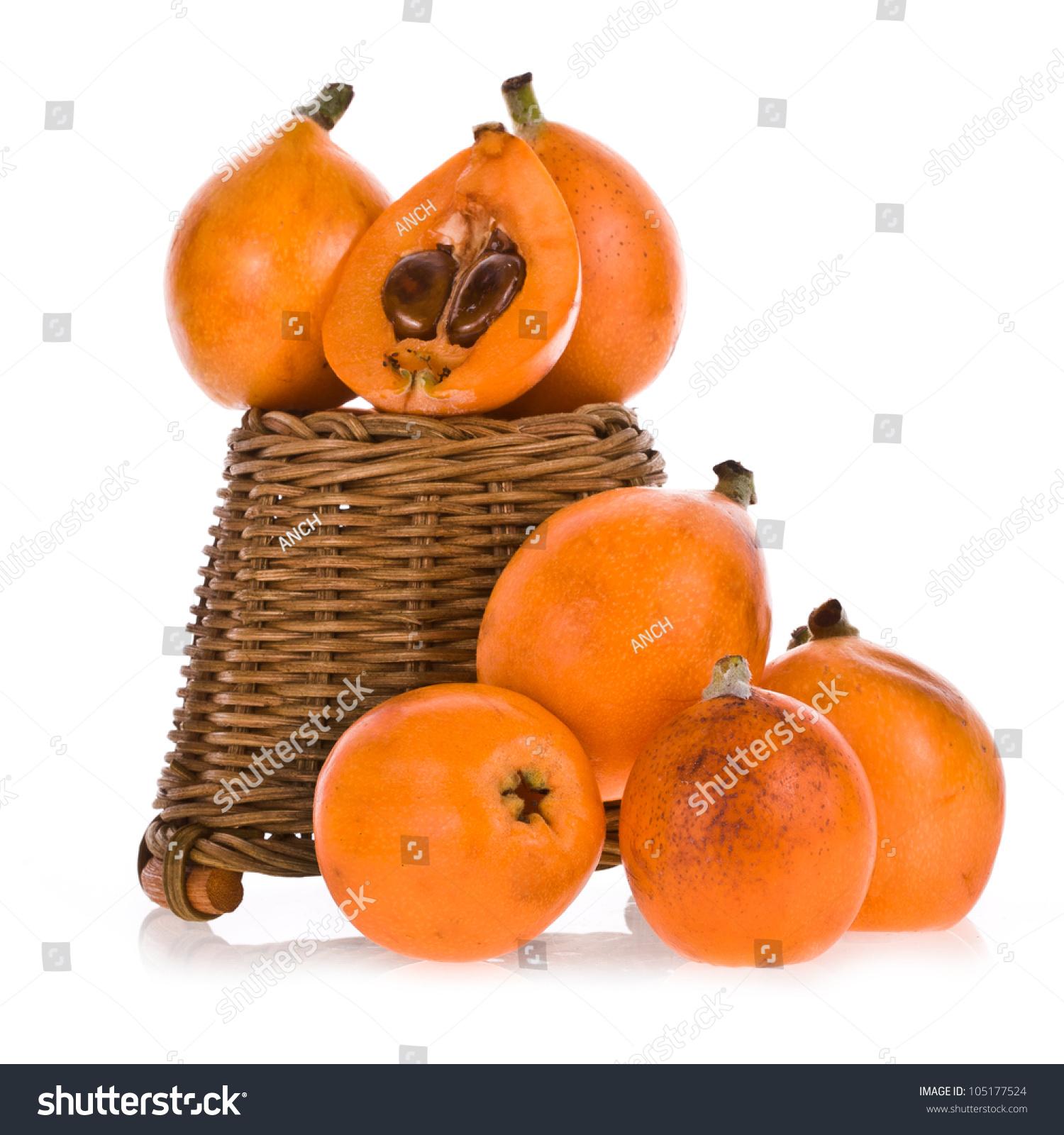 loquat fruit hanging fruit basket