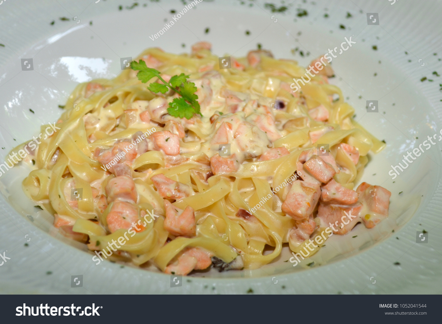 Delicious Tasty Seafood Pasta Homemade ...