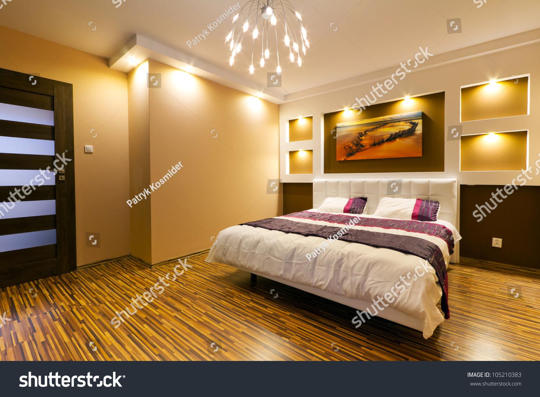 Modern Master Bedroom Modern Master Bedroom Interior Picture Shipwreck Stock Photo