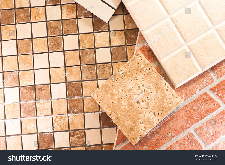 Types of flooring tiles