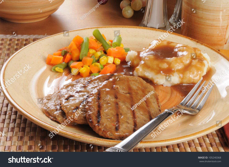 how to prepare salisbury steak