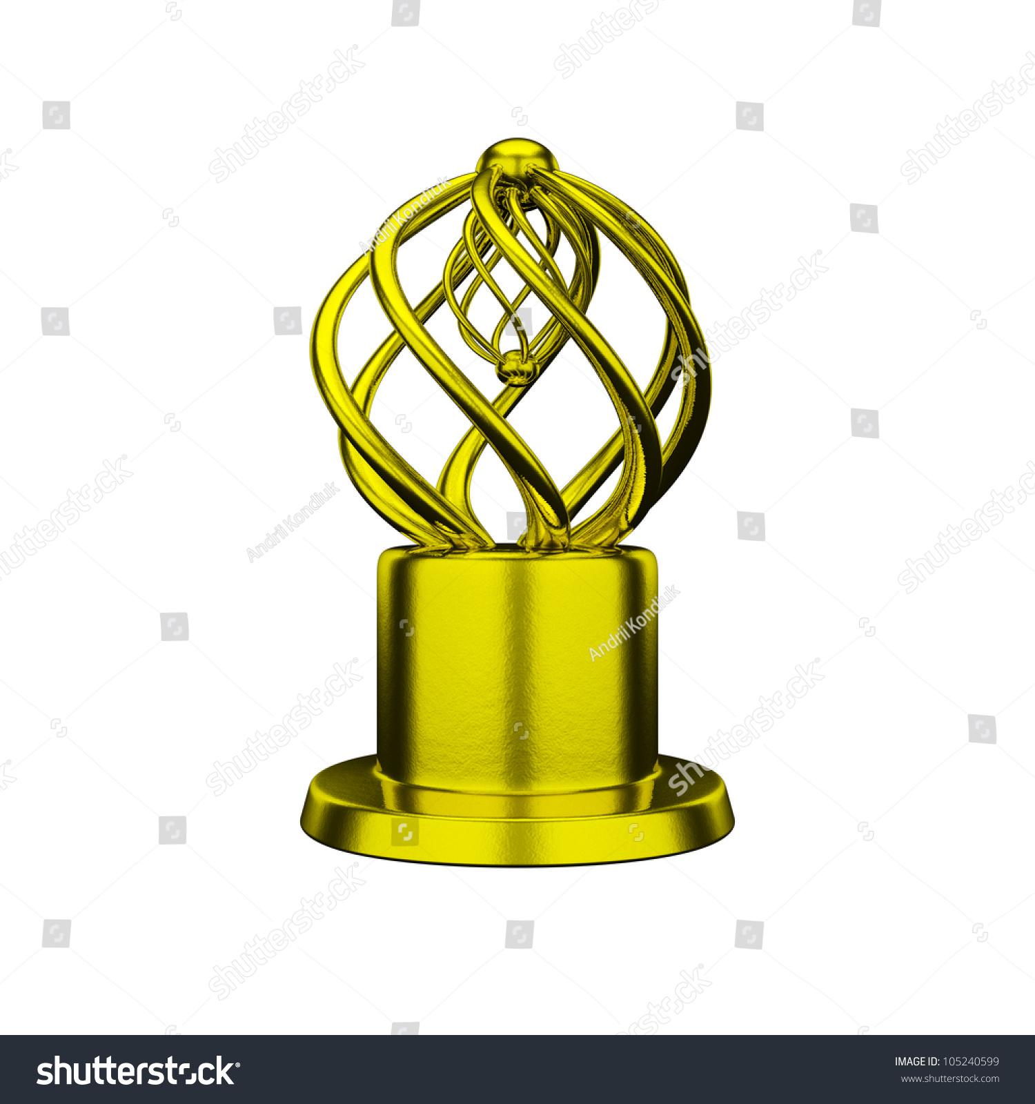 Gold Trophy Award Conceptual Design Silver Media Prize Concept